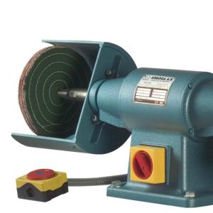 ARBOGA POW308 polerka przemysłowa z dodatkową stalową szczotką szlifierską SKRiM