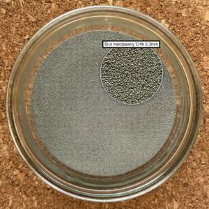 śrut nierdzewny chromowo niklowy